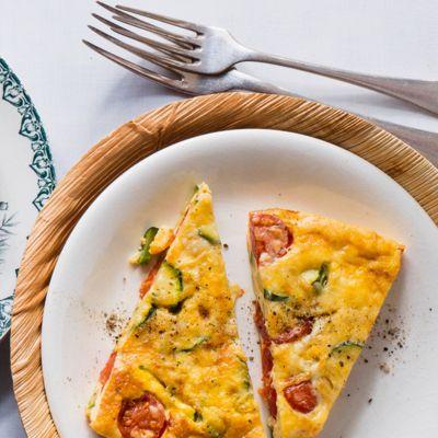 Italienische Gemüse-Frittata mit Parmesan