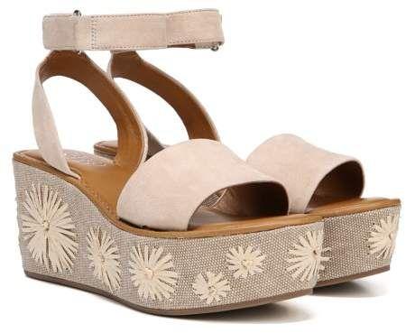 19923aded659 Franco Sarto Women s Jovie Wedge Sandal