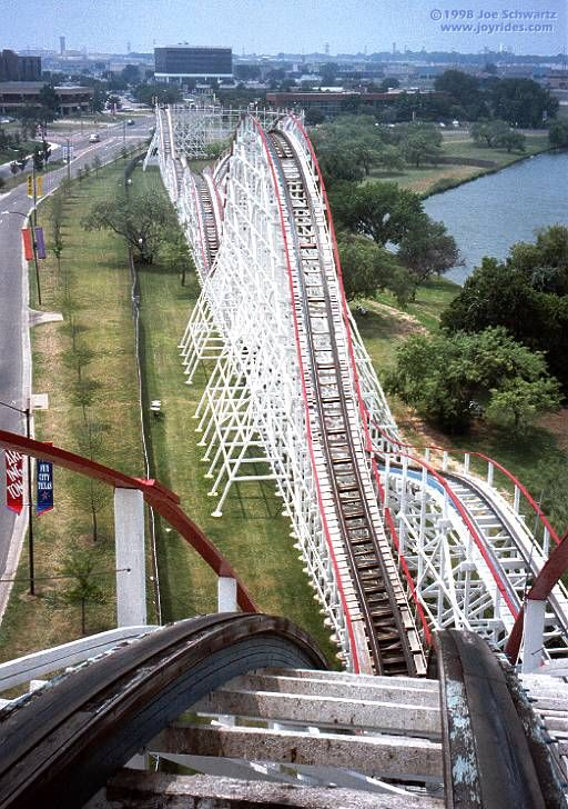 Judge Roy Scream Six Flags Over Texas Arlington Texas Usa Six Flags Over Texas Roller Coaster Six Flags