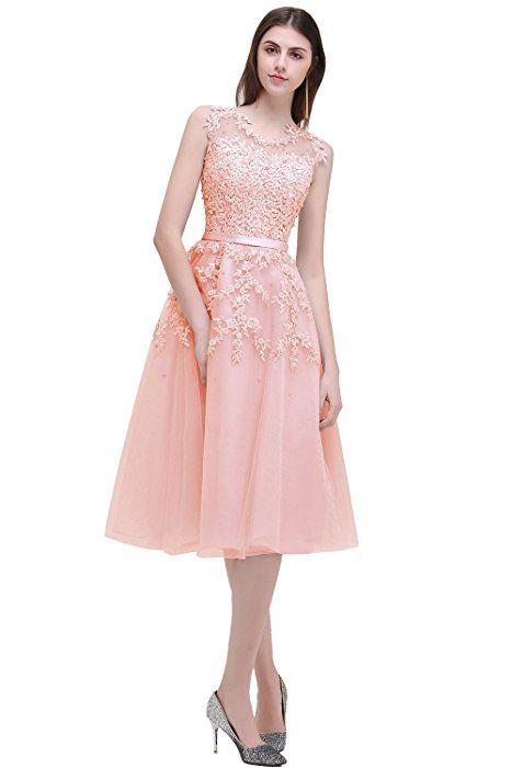 babyonline damen blush pink perlstickerei spitze applique