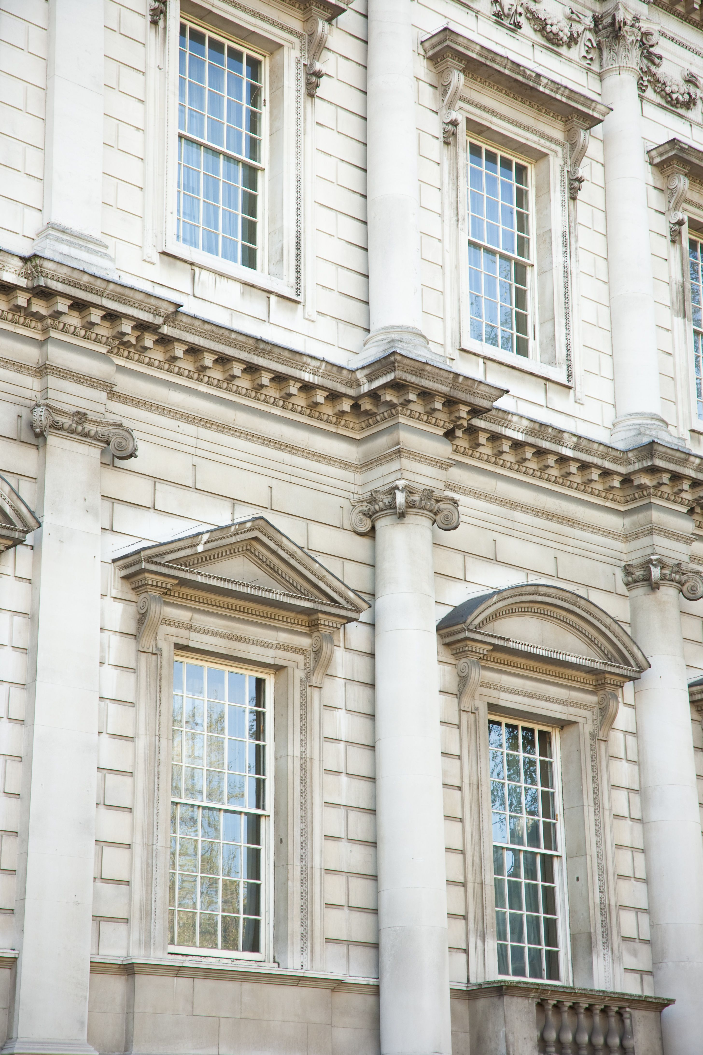 Facade Detail From Banqueting House Whitehall In London London