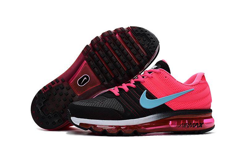 Nike Air Max 2017 Women Black Pink Grey  dc68aa893