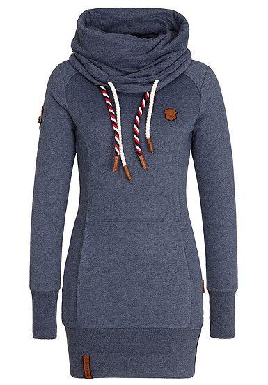 NAKETANO Rereorder V - Sweatshirt für Damen - Blau - Planet Sports 4f40b7bc04