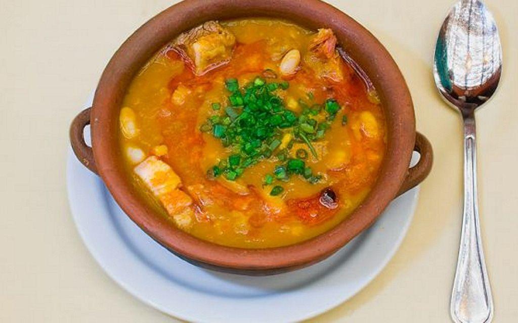 Buseca en el restaurante la posta de purmamarca jujuy Gastronomia jujuy