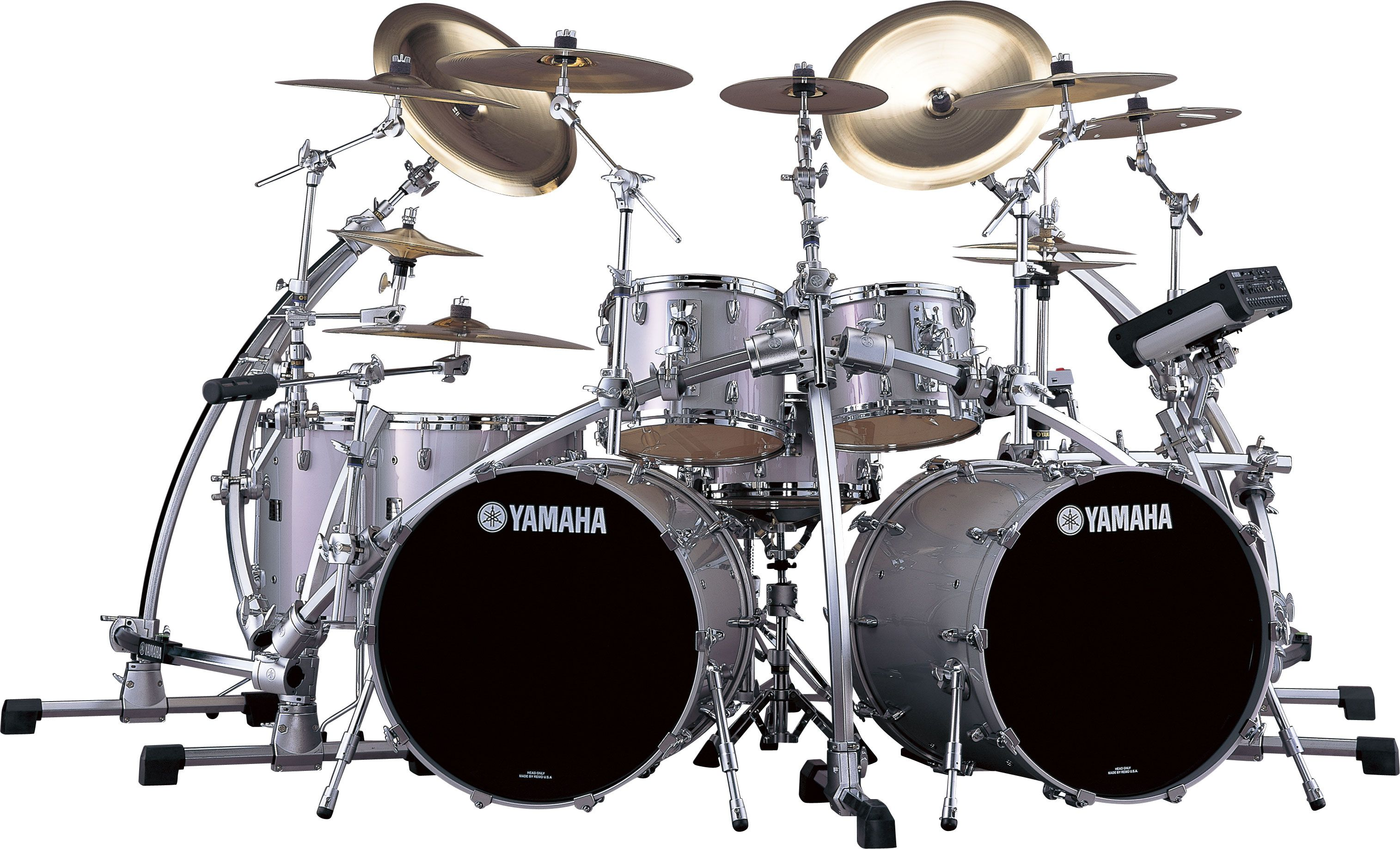 Yamaha Birch Double Bass With Images Drum Kits Yamaha Drums
