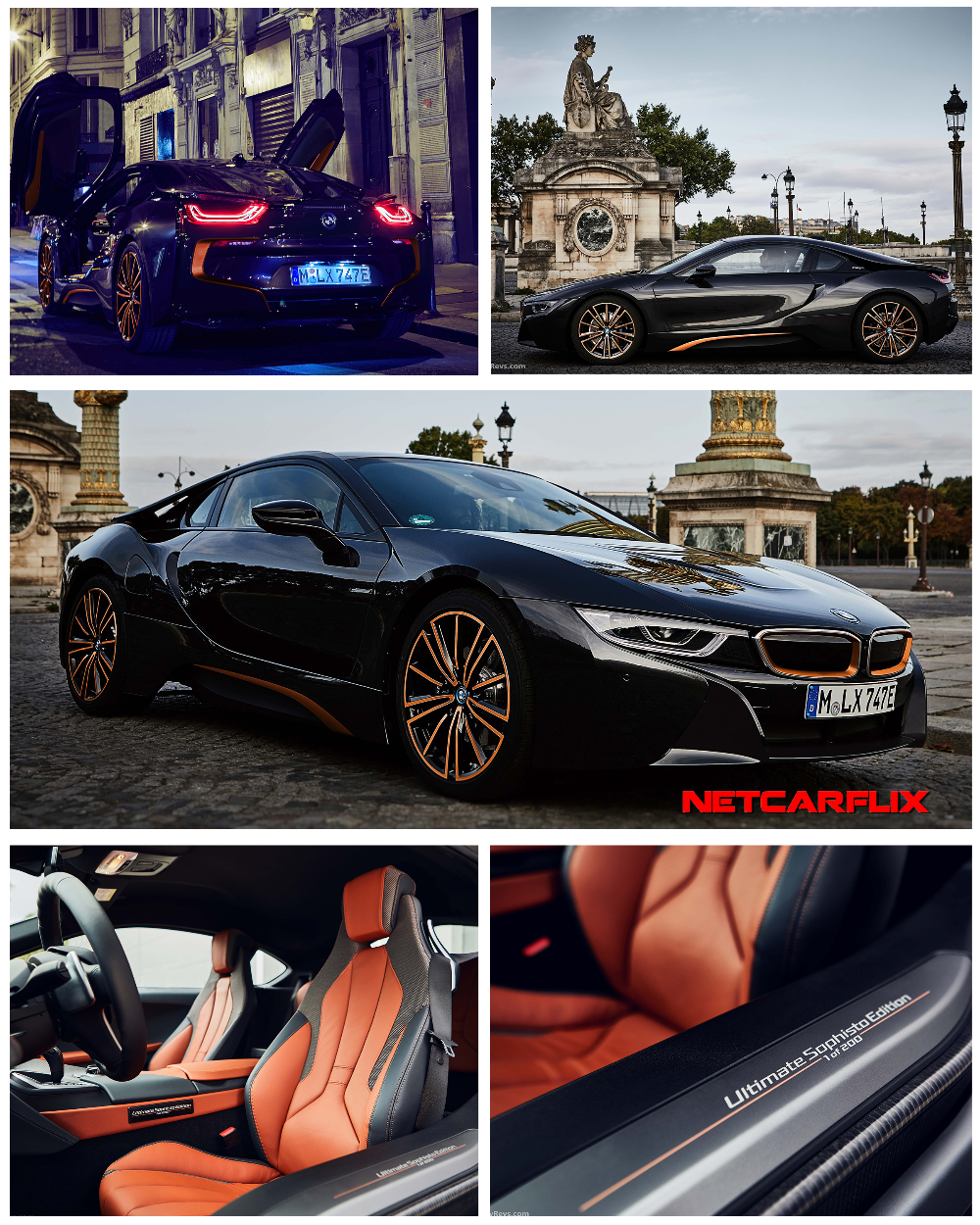2020 BMW I8 Coupe Ultimate Sophisto Edition