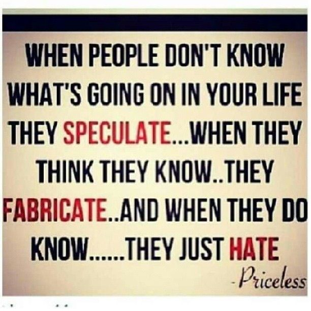 Jealousy quotes on Pinterest | Nosey People, Hater Quotes