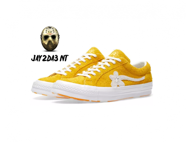 cf83dcc5570d CONVERSE X TYLER THE CREATOR GOLF LE FLEUR ONE STAR YELLOW
