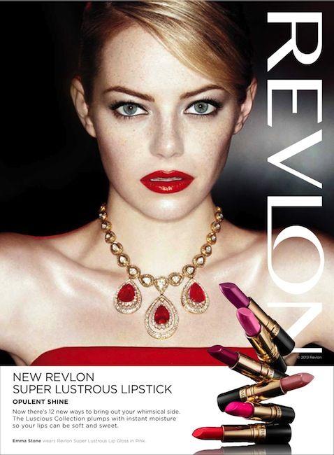 Sneak Peek - Emma Stone's Latest Ad Campaigns for Revlon | Hair ...