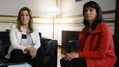 """Teresa Rodríguez corrige a la dirección de Podemos y dice que sus """"condiciones"""" para la investidura de Díaz son """"imprescindibles"""""""