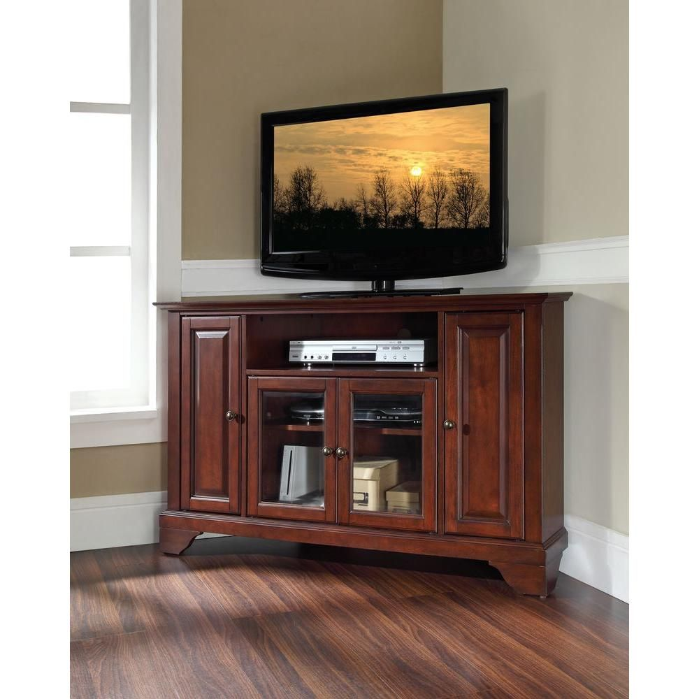 Crosley lafayette mahogany entertainment center products