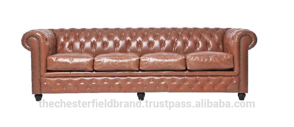 Check out this product on Alibaba.com APP Chesterfield Showroom Brighton Vintage Mokka 4 Seater sofa