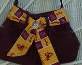 ASU Sun Devils recycled jeans purse