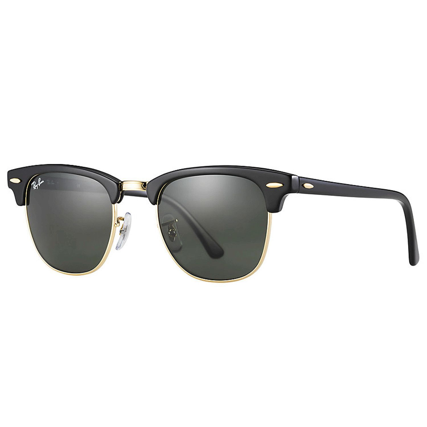 3c07789e4abb1 As fashionable today as when the Clubmaster was first introduced, Ray-Ban  Clubmaster Flash Lenses RB3016 sunglasses ...