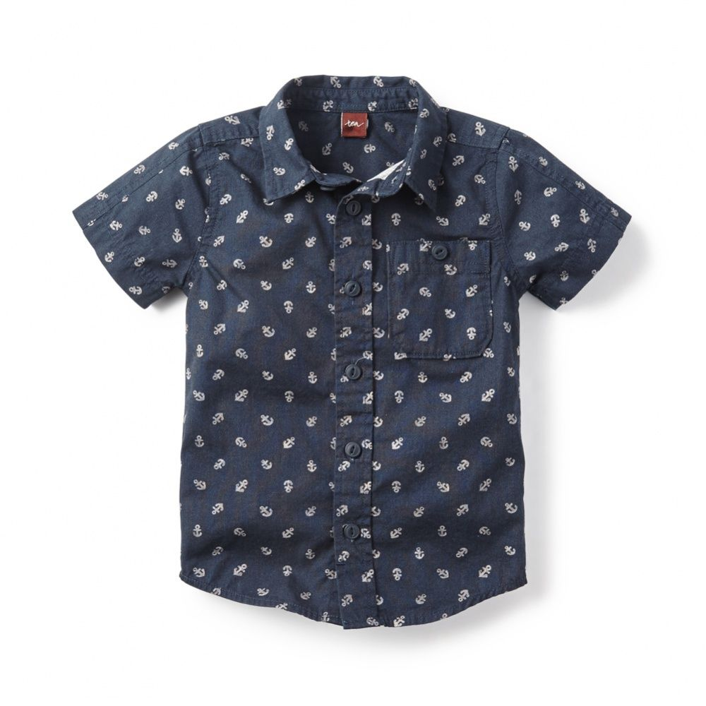 6d0301b95ebb Anchors Aweigh Shirt for Little Boys