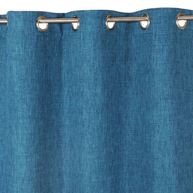 Rideau Occultant Colours Barcelona Bleu 140 X 240 Cm