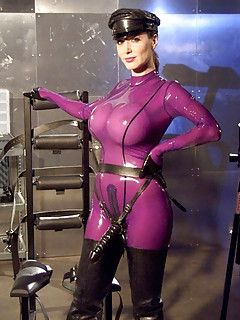 tits latex big Sexy