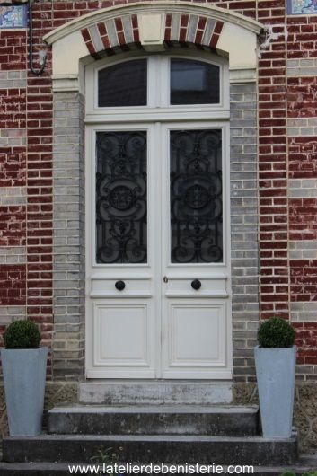Porte d 39 entr e en chene massif entrees pinterest - Lapeyre porte entree ...