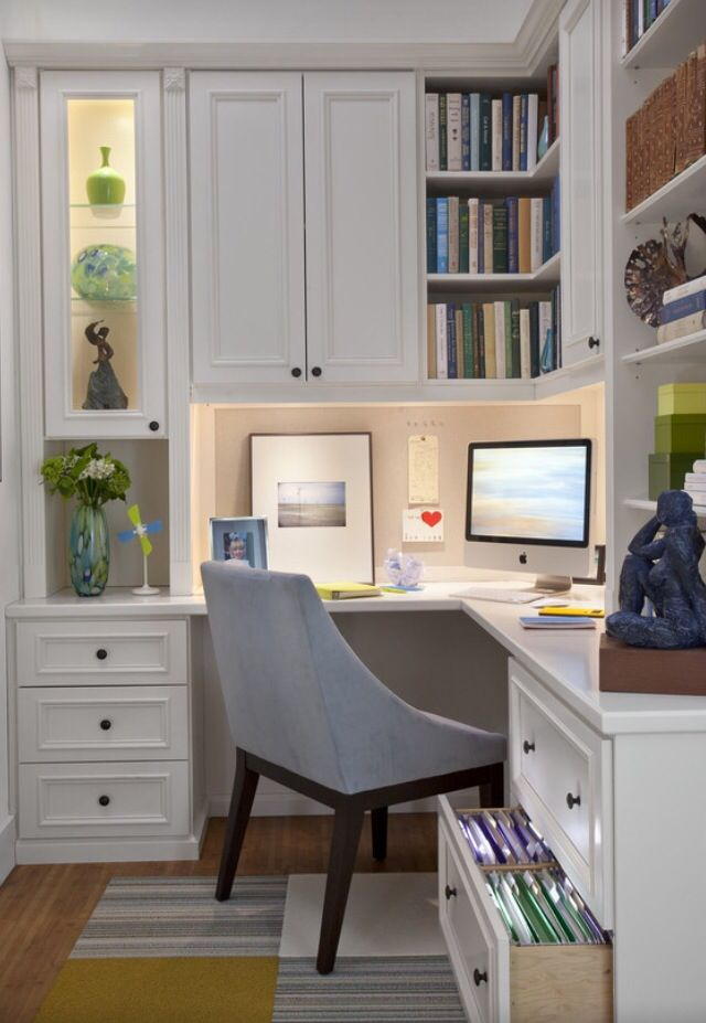 Pin By Sharon Bowling On File Cabinet Desk Small Home Offices