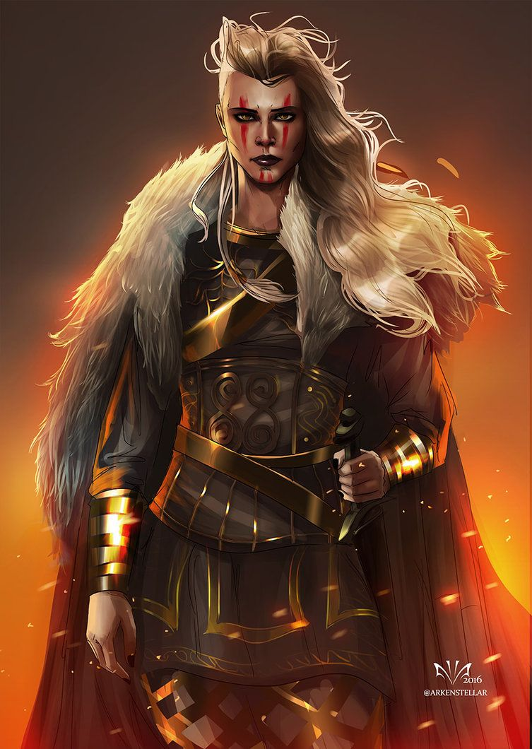 Char portraits porunn by arkenstellar fantasy - Fantasy female warrior artwork ...