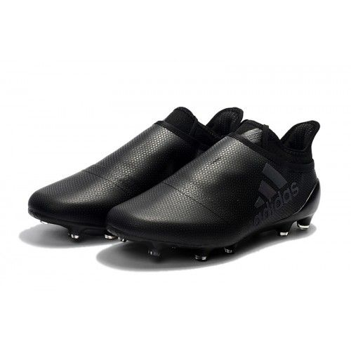 official photos 6c9e4 ccbab Jeftino Adidas X 17 Purechaos FG Kopačke All Black