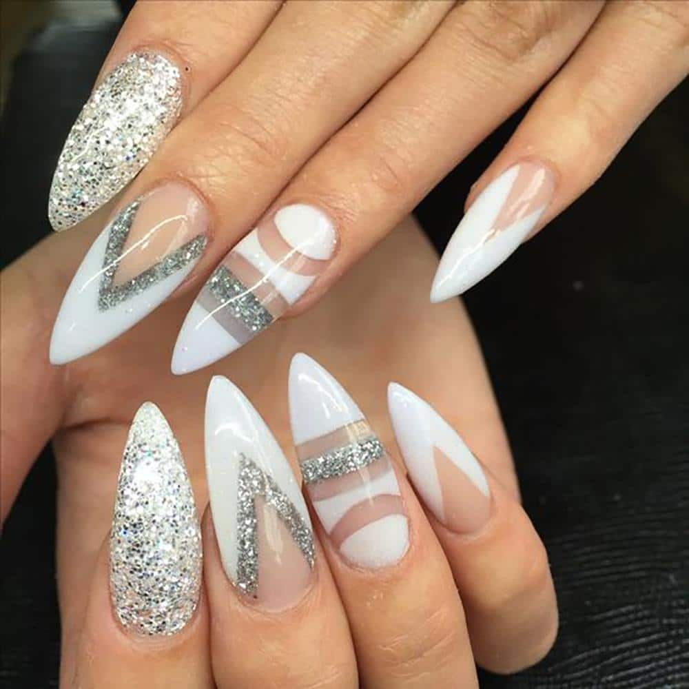 20 Worth Trying Long Stiletto Nails Designs Stiletto Nails