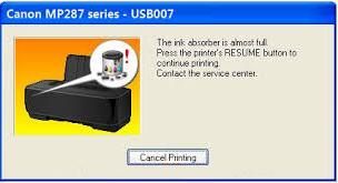 Free Download Resetter Canon Mp287 Printer Canon Hp Printer