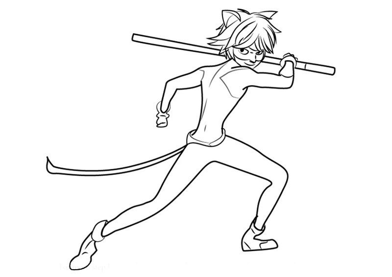 Kartinki Po Zaprosu Super Kot Adrian Ladybug Coloring Page Cartoon Coloring Pages Ladybug