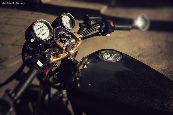 Yamaha Radian YX 600 on Behance | Motos