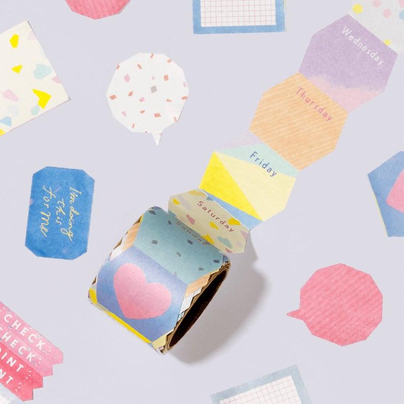 Iroha Studium Sticky Roll Note Fukedashi Etsy In 2020 Japanese Stationery Cute Stationery Planner Stickers