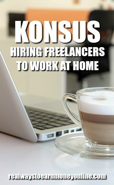 Konsus Offering Work to Freelancers Across Many Categories Work at