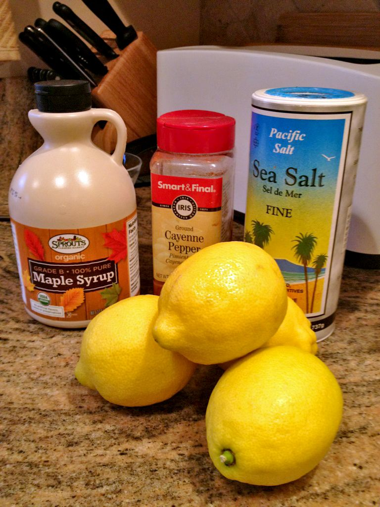 """The Master Cleanse is better know as the """"lemon, maple syrup and cayenne pepper diet"""" but I would not call it a diet in the regular sense of food change."""