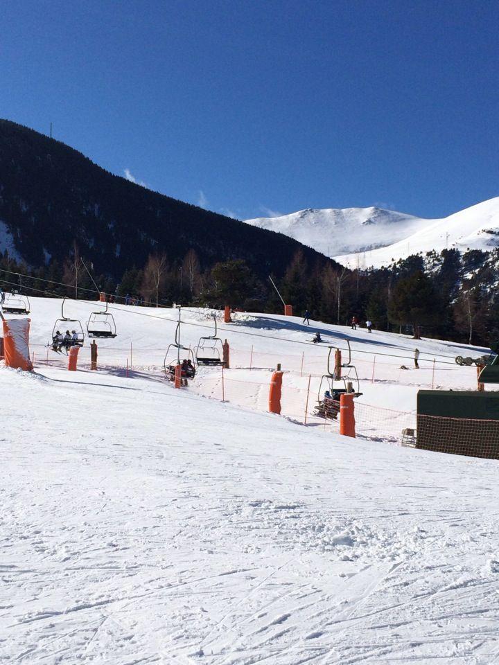 Estació D Esquí La Molina Paisajes Esquí