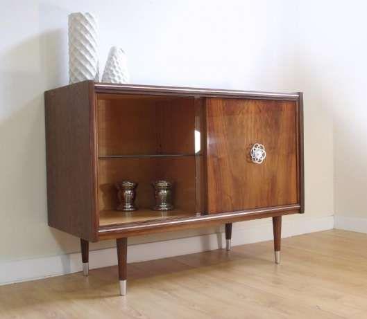 750zl Komoda Szafka Rtv Retro Vintage Danish Scandi Prl Barek Witryna Poznan Image 1 Home Decor Furniture Retro Vintage