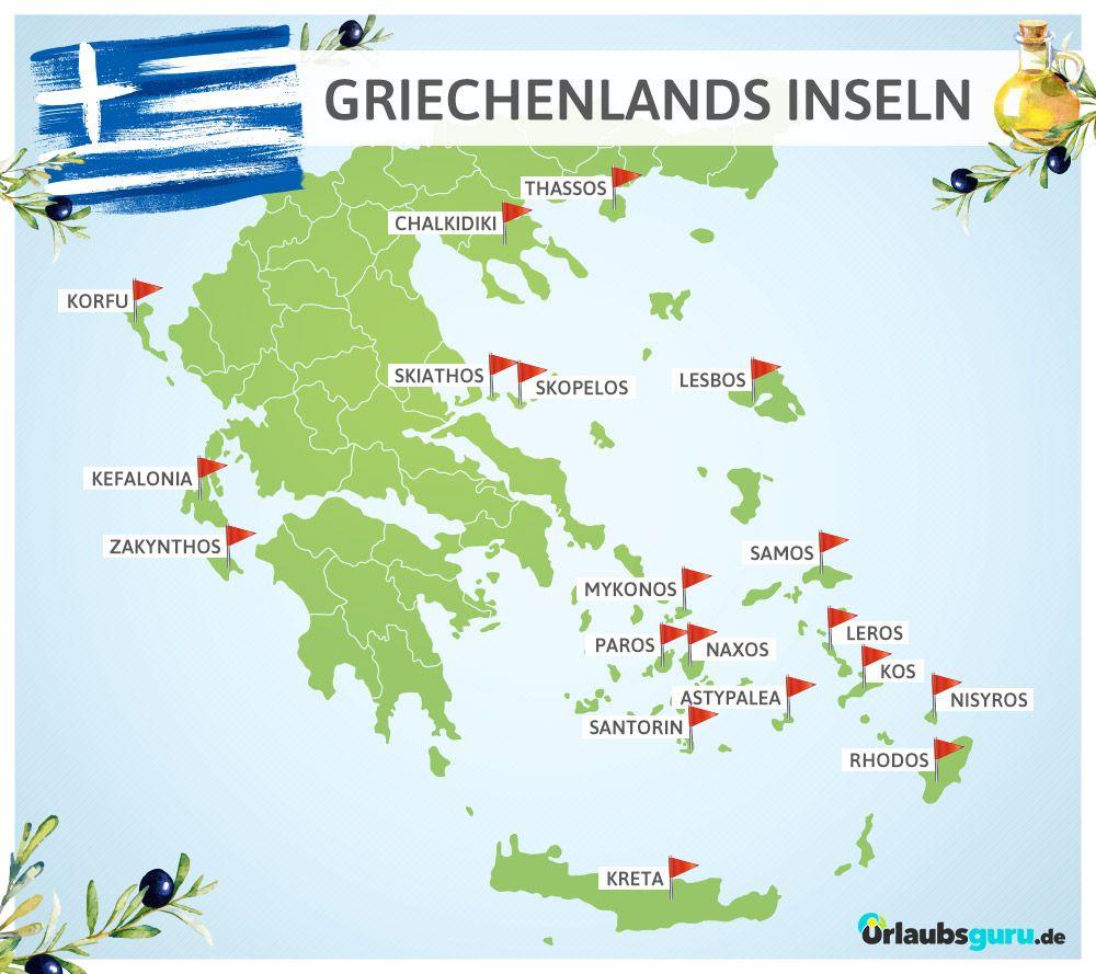 Das Sind Die Schonsten Griechischen Inseln Griechische Inseln