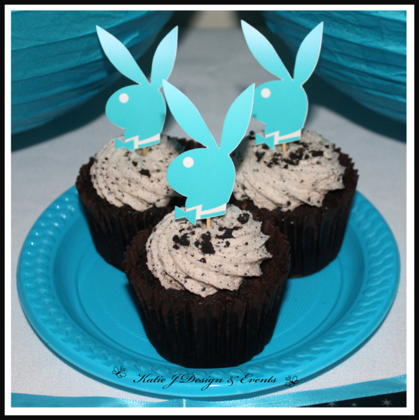 Shop online personalised ladies playboy party decorations for 30th birthday decoration packs