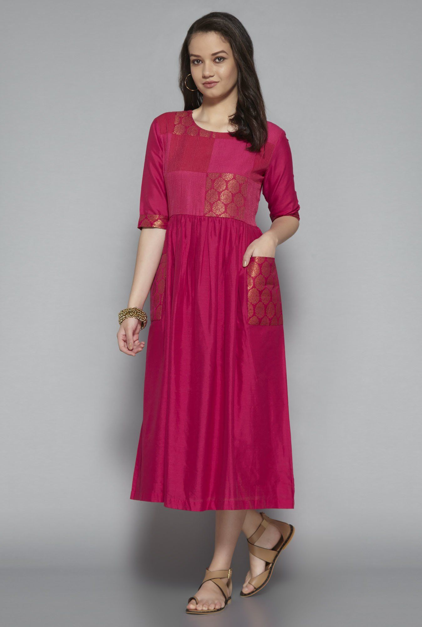 Bombay Paisley by Westside Pink Dress