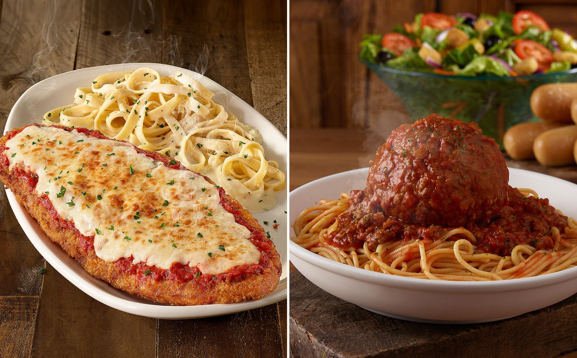 Olive Garden Adds New Giant Classics To The Menu Including An 11