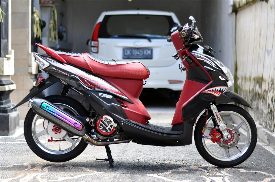 80 Modifikasi Motor Mio Soul Merah Marun Terbaru Dan Terkeren