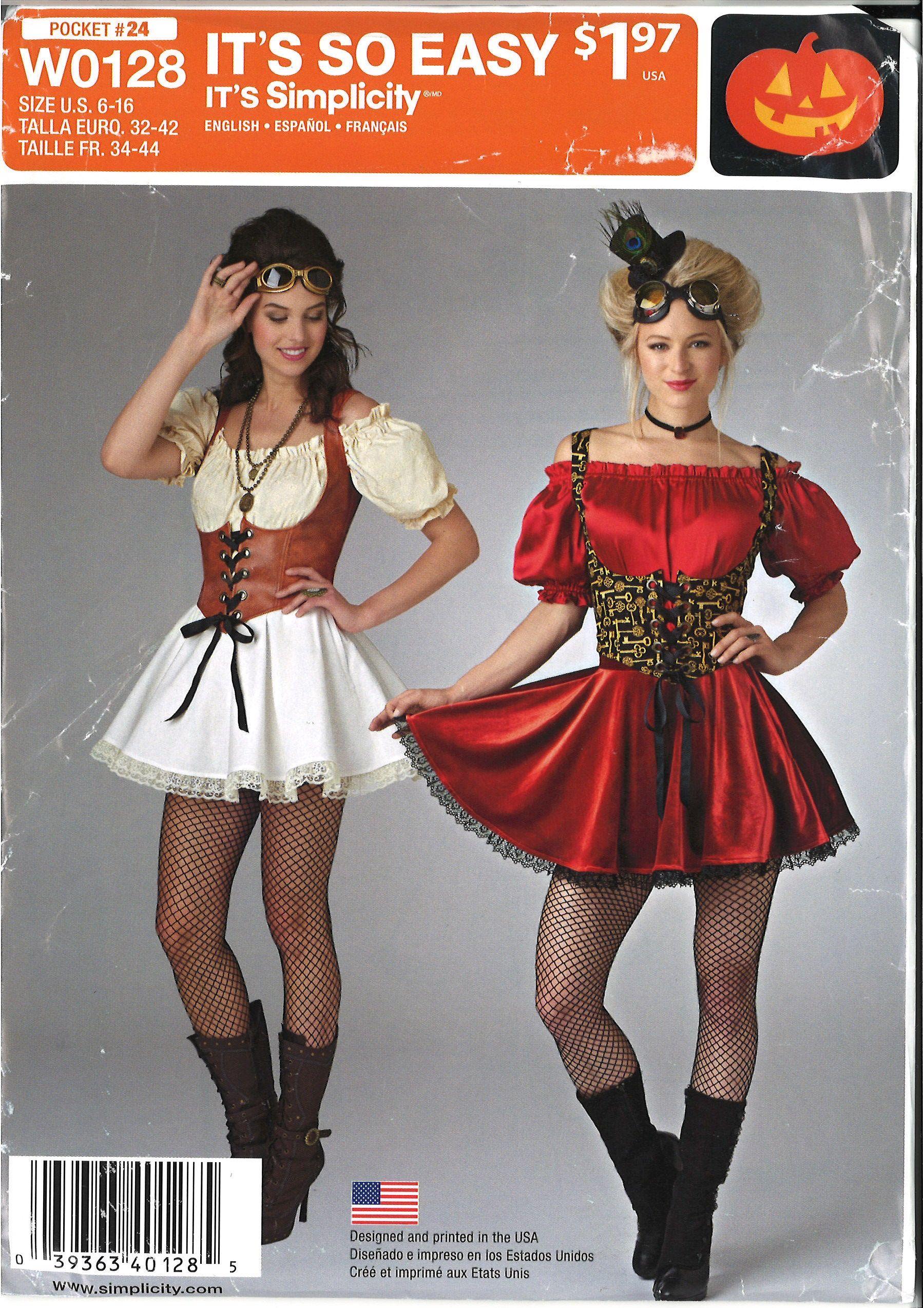 Fliquesse Fancy Dress Costume