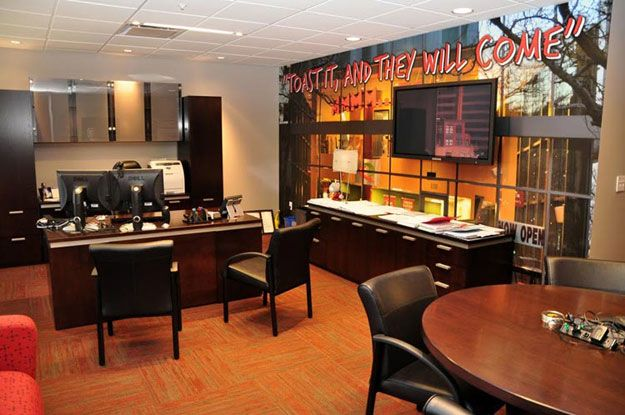 Quiznos Corporate Office Denver CO Casbah Casegoods In Private NationalOffice