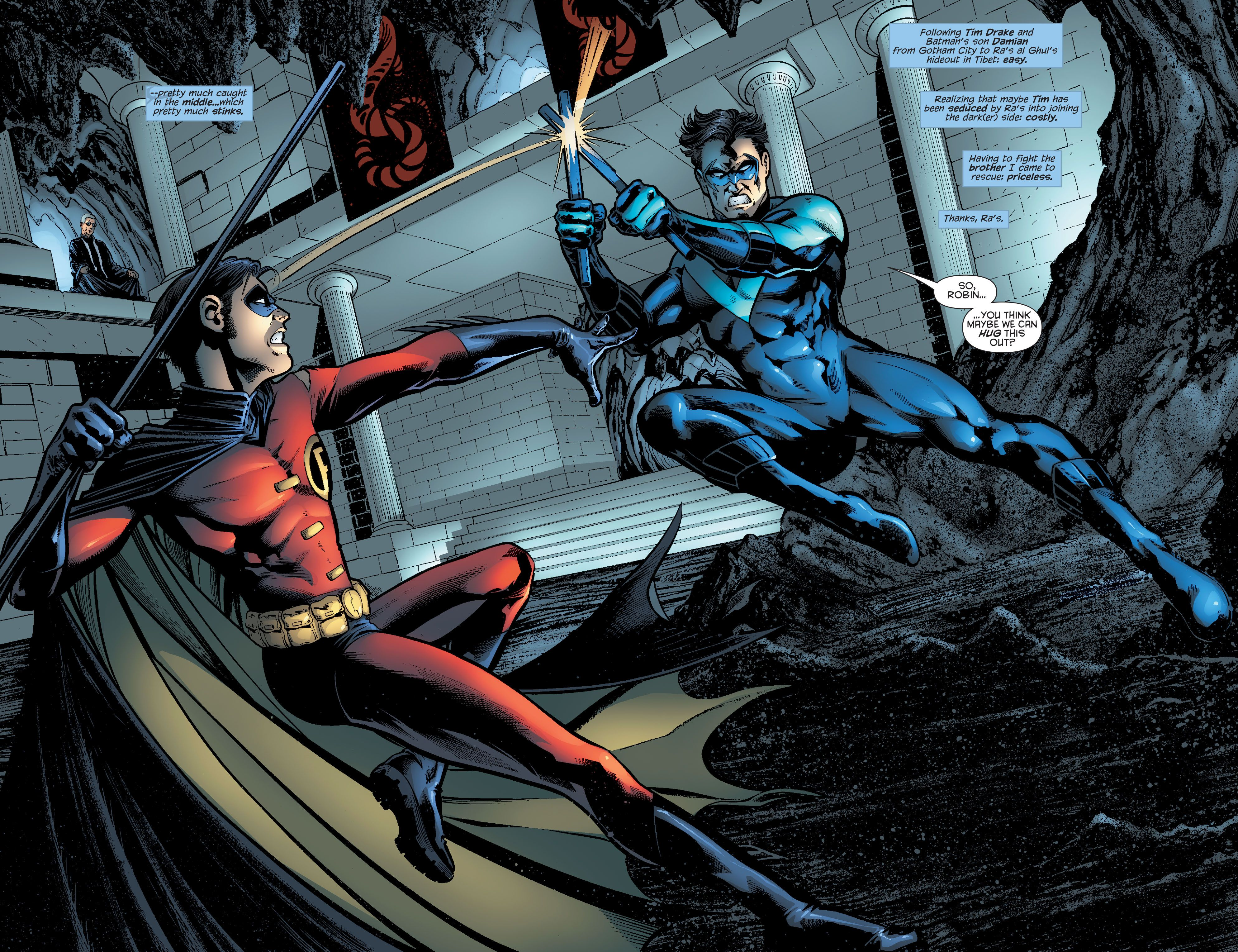 Nightwing (1996) Issue #139 Robin Tim Drake Dick Grayson ... Nightwing And Red Robin