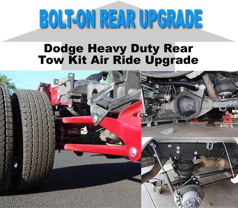 2003 2013 Dodge Ram 2500 3500 Dually Rear Bolt On Air Suspension Kit Upgrade X2 Industries Dodge Ram 2013 Dodge Ram Dodge Ram 2500