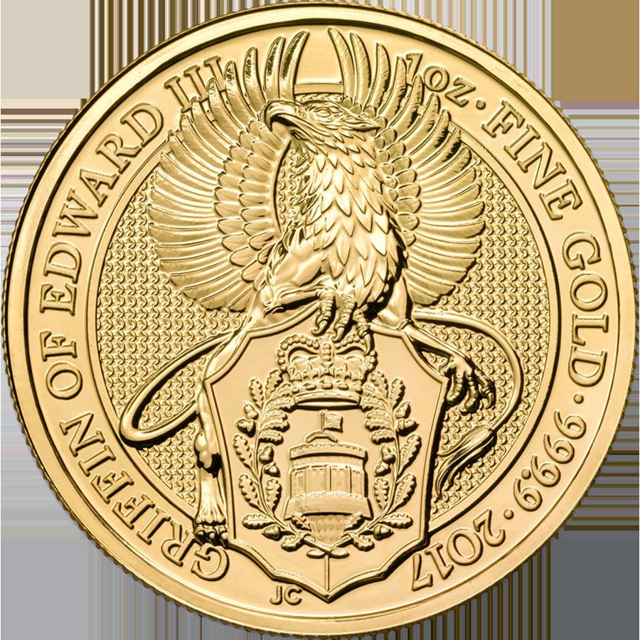 2017 UK Queen's Beasts The Griffin