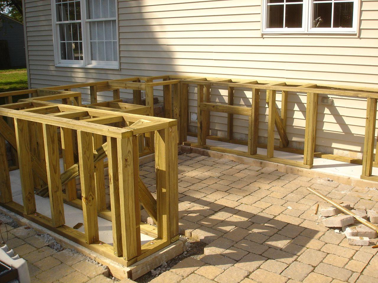 diy bar top design ideas match existing patio preparation for