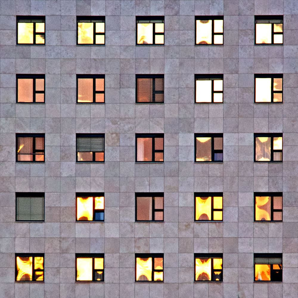Self-Identity  (every window reflects the sun in it's own way)