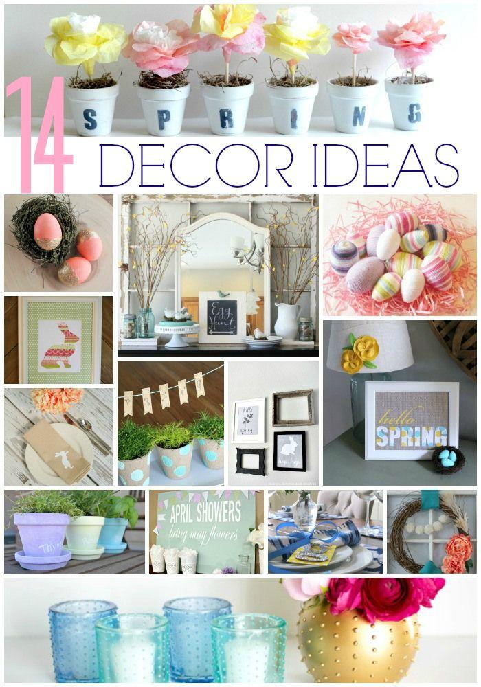14 ideas de decoración para el hogar