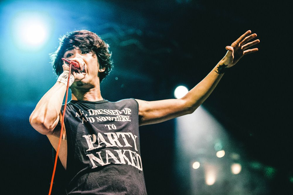 """One Ok Rock  """"Who are you?? Who are we??""""  The Coliseum Resort World Sentosa Live in Singapore 2013  (c) Nor Asyraf"""