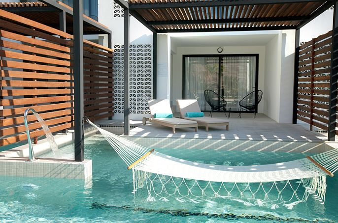 Finest Playa Mujeres Swim Up Suite Terrace Cancun Hotels