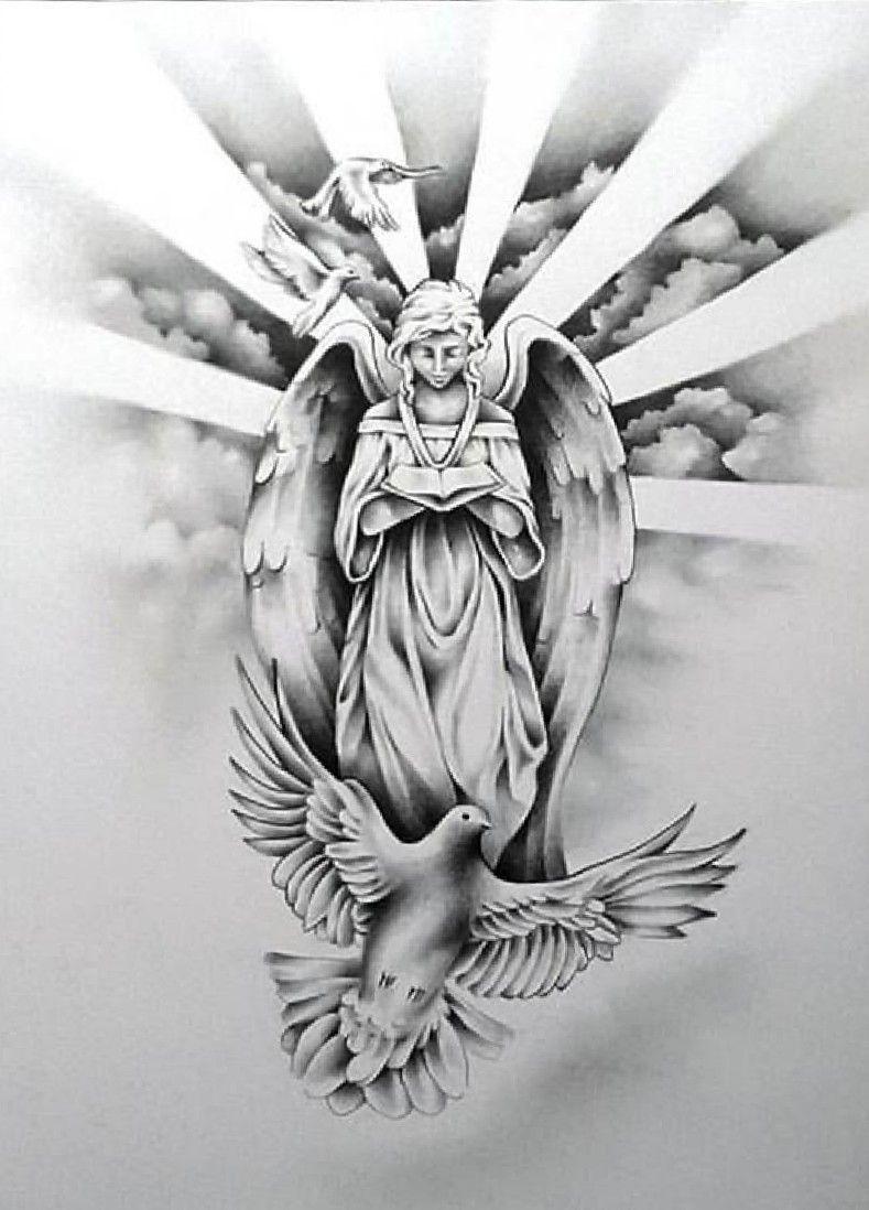 Schutzengel Engel Tattoo Vorlagen Schutzengel 13